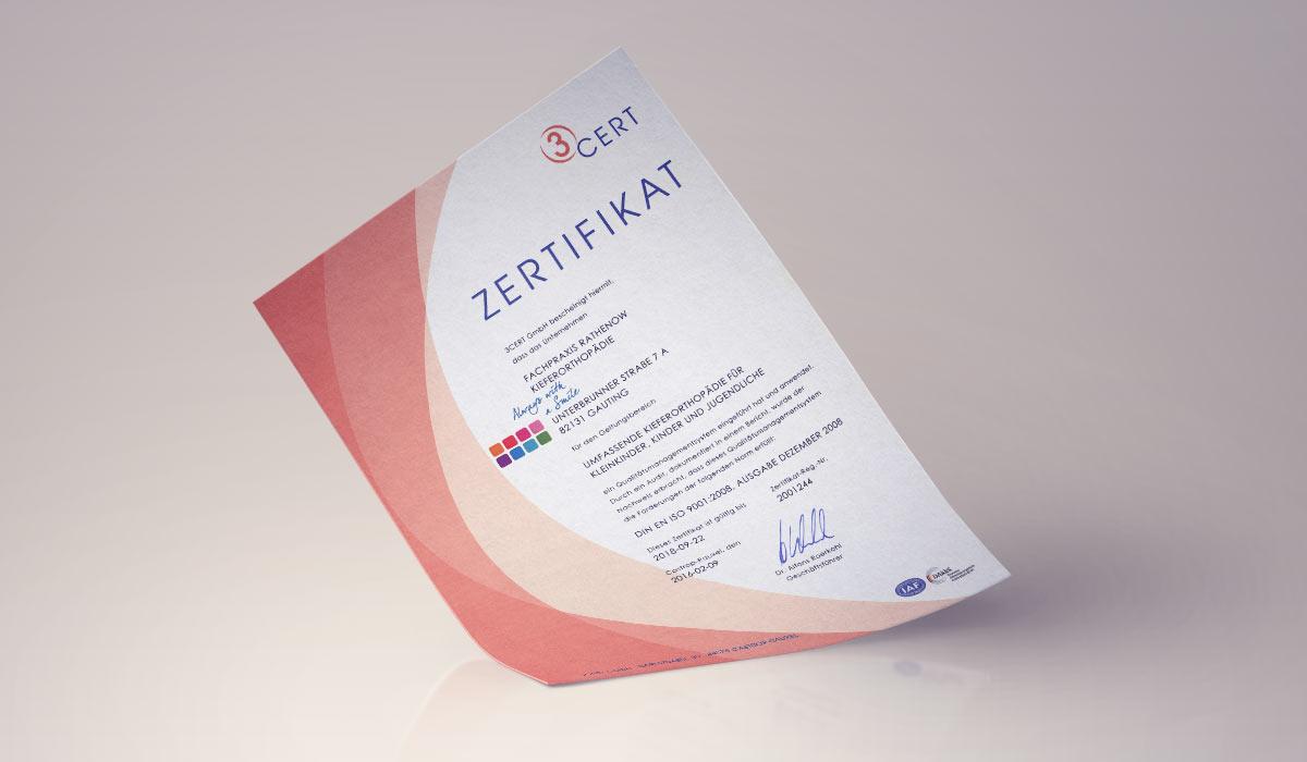 News | Re-Zertifizierung durch 3 Cert