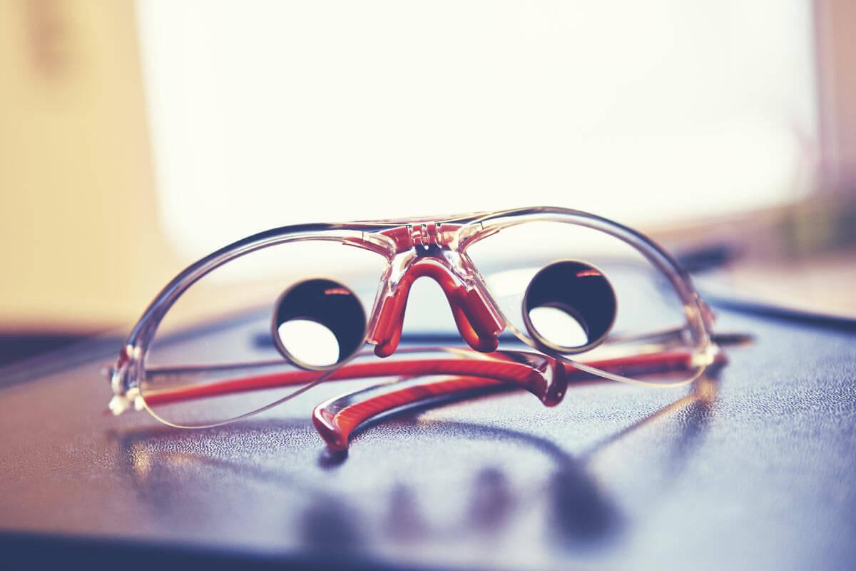 Besondere Leistungen - Individuell angefertigte Lupenbrillen