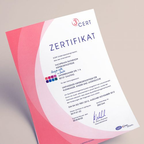 Qualitätsmanagement - 3 cert GmbH